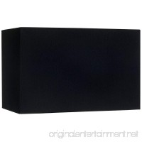 Black Rectangular Hardback Lamp Shade 8/16x8/16x10 (Spider) - B006JMNU0A