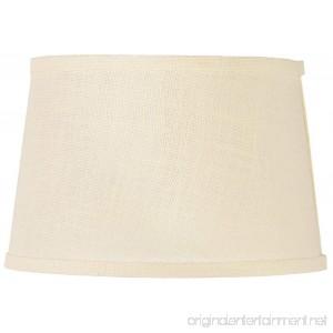 Cream Burlap Drum Lamp Shade 10x12x8 (Spider) - B00KM4HUHA