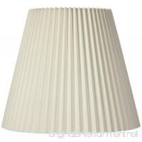 Ivory Pleated Shade 10x17x14.75 (Spider) - B00DRDO0TY