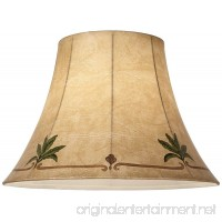 Palm Leaf Faux Leather Lamp Shade 9x18x13 (Spider) - B0000DKNF3
