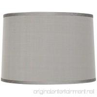 Platinum Gray Dupioni Lamp Shade 15x16x11 (Spider) - B0002Z2BUA
