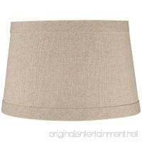 Springcrest Natural Linen Drum Shade 10x12x8 (Spider) - B00CJB68HC
