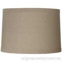 Springcrest Natural Linen Drum Shade 15x16x11 (Spider) - B009M41F3Q