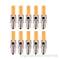 Dimmable 3W E12 2508 COB 200-300 Lm Warm White Cool White Decoration Light AC 220-240 V/AC 110-130 V (10PCS) (Color : Warm White  Size : 110-130V) - B07FF3DD1Q