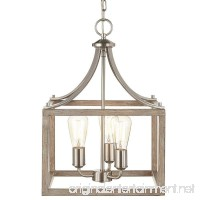 Home Decorators Collection 7948HDC Pendant 3 light Boswell Nickel Painted Weathered lamp - B07D6CNMQV