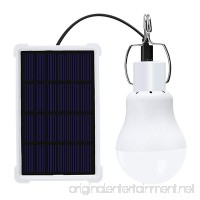 Portable Solar Light Bulb Led Rechargeable Hanging Lamp Home Energy Lighting Fishing Lights Outdoor Hiking Camping 1pcs - B07FF3Q36C