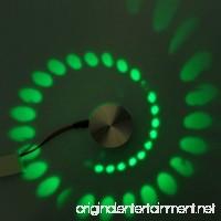Red Light LED Wall Lamp Aluminum Indoor Lighting For KTV Bar Decorate Lights AC 110-240V 1PCS (Color : Green) - B07FF4J93V