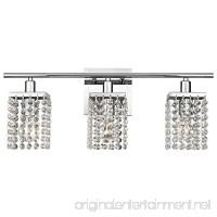 3-Light Crystal Bathroom Vanity Light - B016DKMBI4