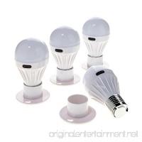 4 Pack - Alltro Bulb Portable Wireless COB LED Light Bulb  Battery Operated LED Night Lights  COB LED Cordless Light Switch  Under Cabinet  Shelf  Closet  Nightlight & Kitchen RV & Boat - B07BZ6T7CY