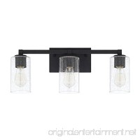 Capital Lighting 119831BI-435 Three Light Vanity - B07262KP4G