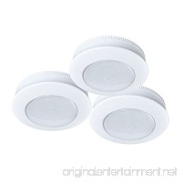 Ecolight Battery-Operated 3-Inch LED Tap Puck Light (3-Pack) - B01KB4Y4D8