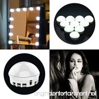 EWEMOSI 10 Vanity Mirror Lights - Dimmable LED Light Bulbs - Intelligent Adjustment Brightness for Makeup Vanity Table Set in Bathroom Living Room Hallway - B07BF4PDYS