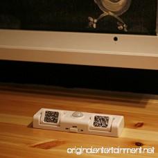 GETMORE7 Motion Sensor Light Battery Powered LED Cupboard Night Light with 8LEDs Magnetic Strip Stick-on Wardrobe Cabinet Closet Under Counter Kitchen Shed Garage Lighting-3 Lighting Modes - B07FXKRX71