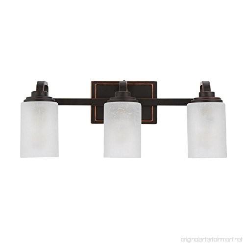 Hampton Bay 3-light Oil-rubbed Bronze Vanity Light