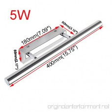 LUMINTURS 5W 21-LED SMD 5050 Wall Sconce Light Fixture Bulb Mirror Front Pic... - B00RHF9WR8
