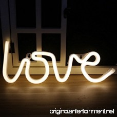 MyEasyShopping Party Decoration USB Rechargeable 3D Table LED Nightlight Love - B07DJSL3MG