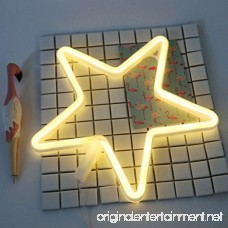 MyEasyShopping Party Decoration USB Rechargeable 3D Table LED Nightlight-Star - B07DJVRWF7