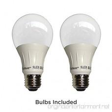 Satin Nickel 6 High LED Mini Accent Clip Light Set of 2 - B07BBR63Y8