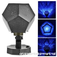 Seasons Sky Star Romantic Projector Lamp  OurLeeme Science Season Projector Star Lamp Show Different Constellation Patterns 2 Pcs/4 Pcs AA Batteries Powered 360 Degree Rotate Angle (Blue) - B07D5BDC6H