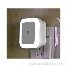 TTLIFE Sensor LED Night Light Lamp with Dusk to Dawn Smart On/Off Auto Sensor Control Mini Square Soft Brightness LED Night Light Lamps for Bedroom Kids Room Hallway Stairs-White Pack of 8 - B01N4BXEV6