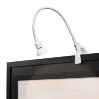 WAC Lighting DL-214-WT Display Light Low Voltage with Plug In Transformer  White - B000R7DFO4