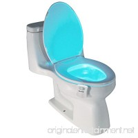 Best Light Motion Activated Toilet Night Light Toilet Nightlight - B01HXWEC60