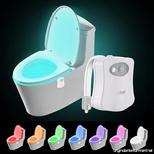 bathroom night lights colorful motion sensor toilet nightlight oenbopo home 11186