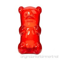 Gummygoods Squeezable Gummy Bear Night Light Portable with 60 Minute Sleep Timer Red - B002L0VOP2