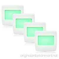 Maxxima Mini Green Always On LED Night Light Pack of 4 - B00K8B2MPM