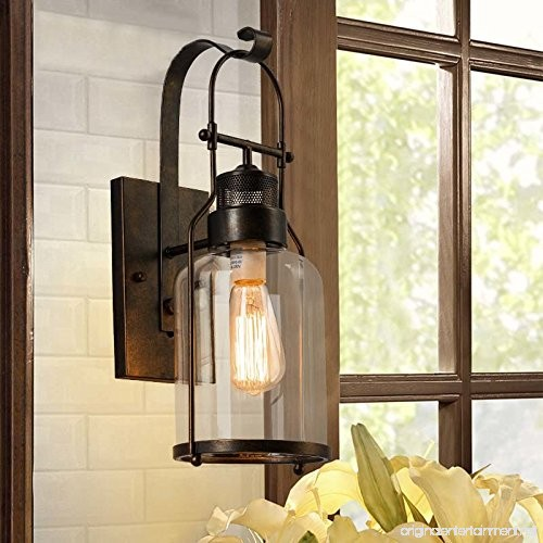 Baycheer Hl422437 Industrial Country Style 18 H Single