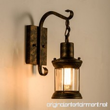 Gladfresit Vintage Wall Light Industrial Lighting Retro Metal Wall lamp Indoor Home Rustic Lights Fixture(Painted with Oil Rubbed Bronze) - B07BHJDGM6