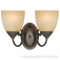 Hardware House 543827 Berkshire 12-1/4-Inch by 8-1/4-Inch Bath/Wall Lighting Fixture  Classic Bronze - B0018P1RQW