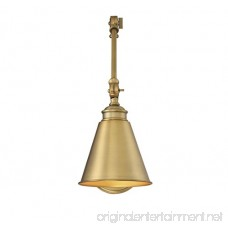 Savoy House 9-961CP-1-322 Morland 1-Light Adjustable Sconce w/Plug in Warm Brass - B01AOELIH0