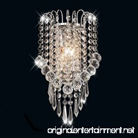 Surpars House Crystal Wall Lamp Silver - B073559M54