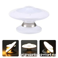 0.7W UFO Motion Sensor LED Night Light 360 Degree Rotating Wall Lamp - B079ZX58BG