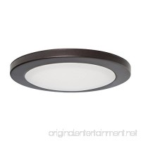 "7"" LED Surface Slim Round Disk Light 120V 15W 3000K Dimmable Bronze - B01JWFGIRC"