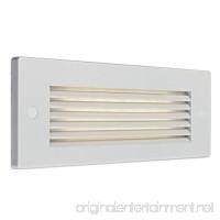 Bruck Lighting 138022wh/3/hl - Step 2 LED Step Light - Horizontal Louver - White Finish - B01BFPDFIC