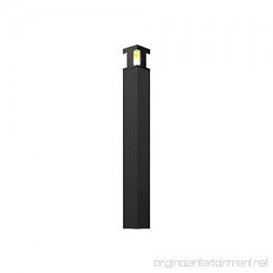 DALS LED Bollard 7W 3000k 700 Lumens - BK - B079N6QHLG