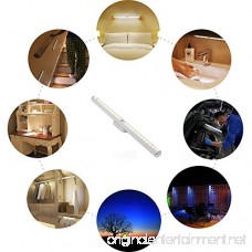 LED Induction Lights for Cabinets Wardrobe Staircase Bedroom Darkroom Outdoor Portable Lighting and Other Scenes.2 Pack - B07DZX71XB