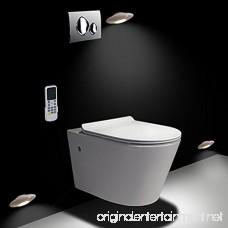 Motion Sensor Night Light Amber Recharger LED Night Light for Bedroom Bathroom Kitchen Hallway Stairs Closet and Toilet 60 Lumens(White) - B077DG7GCG