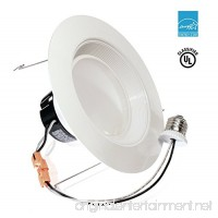 "11Watt 5/6""- Inch ENERGY STAR UL-Listed Dimmable LED Downlight Retrofit Baffle Recessed Lighting Kit Fixture  3000K Warm White LED Ceiling Light Wet Location -- 800LM - B015QGSYIM"