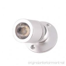 Brightsky 1w Warm White LED Mini Surface Mounted Light Jewelry Cabinet Lamp Spotlight Ac85-265v - B00HDDU0U2