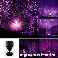 Celestial Star Cosmos Night Lamp Night Lights Projection Projector Starry Sky  REYO (purple) - B075R7DX8J