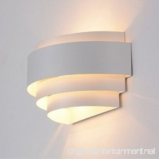 Decoroom Modern LED Wall Light Sconce up Down Wall Lights Wall Lamp Perfect for Living Room Hallway Bedroom Lamps Warm White(Light Bulb Include) - B07B24YZT3