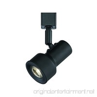 Designers Fountain EVT1030D3-05 Small Solid Black Step Cylinder Integrated Led Track Lighting Head  3000K - B01N0P3BEY