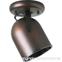 Progress Lighting P6144-174 1-Light Round Back Ceiling Mount Directional  Urban Bronze - B001BQJQ8E