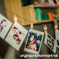 Amazlab T2C LED Photo Clips String Lights  16 Photo Clips  4 5 Meter/15 Feet  Warm White  Battery Powered Perfect for Hanging Pictures  Notes  Artwork - B016U822Y2