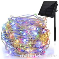 Ankway Solar String Lights Multi Color  200 LED Fairy Lights 3-Strand Copper Wire Light 8 Modes 72 ft Solar String Lights Waterproof Twinkle Lights for Garden Patio Indoor Outdoor(Multi Color) - B0762WPZKV