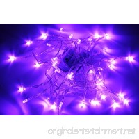 Karlling Battery Operated Purple 40 LED Fairy Light String Wedding Party Xmas Christmas Decorations(Purple) - B017Z21OB4