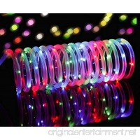 Solar Powered Rope Lights Findyouled Outdoor Waterproof 100LED 40ft Decoration Light Automatically Working From Dusk to Dawn (Multi-color) - B01KHQR29I